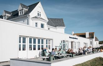 The Seaside Boarding House at Burton Bradstock, Dorset