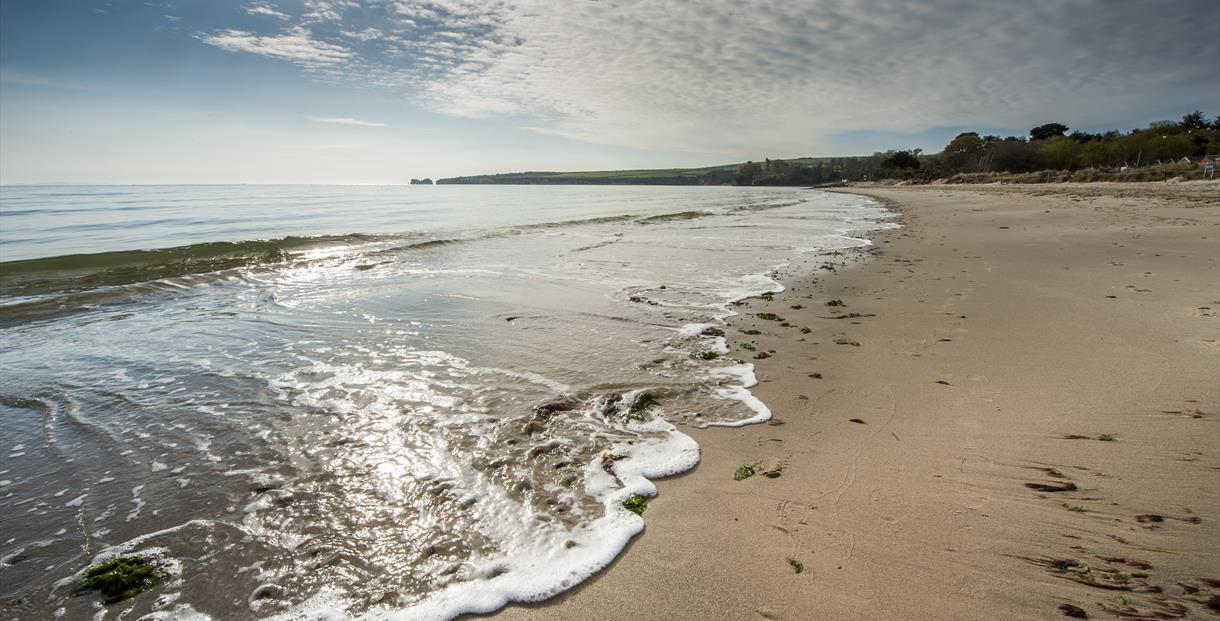 Knoll Beach and Studland Bay