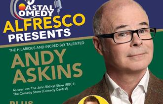 comedy, standup, bournemouth, andy askins, coastal comedy, whatson,