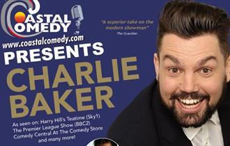 comedy, standup, bournemouth, charlie baker, canvas, comedy club,coastal comedy, whatson,