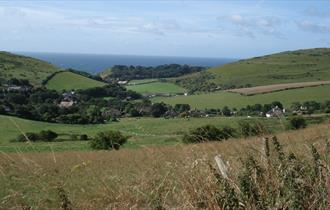 Views over West Lulworth, Dorset
