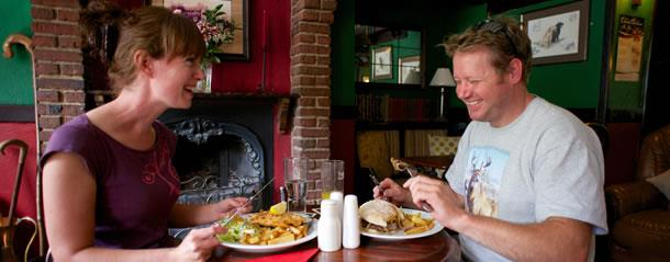 Cycling places to eat in Durham