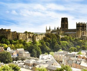 Map of Durham City