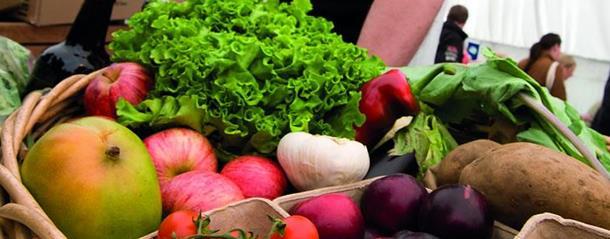 Local produce in Durham