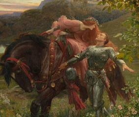 Pre-Raphaelite Knights at The Bowes Museum