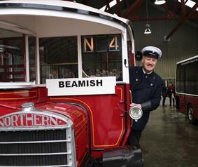 Beamish Museum Bus Depo