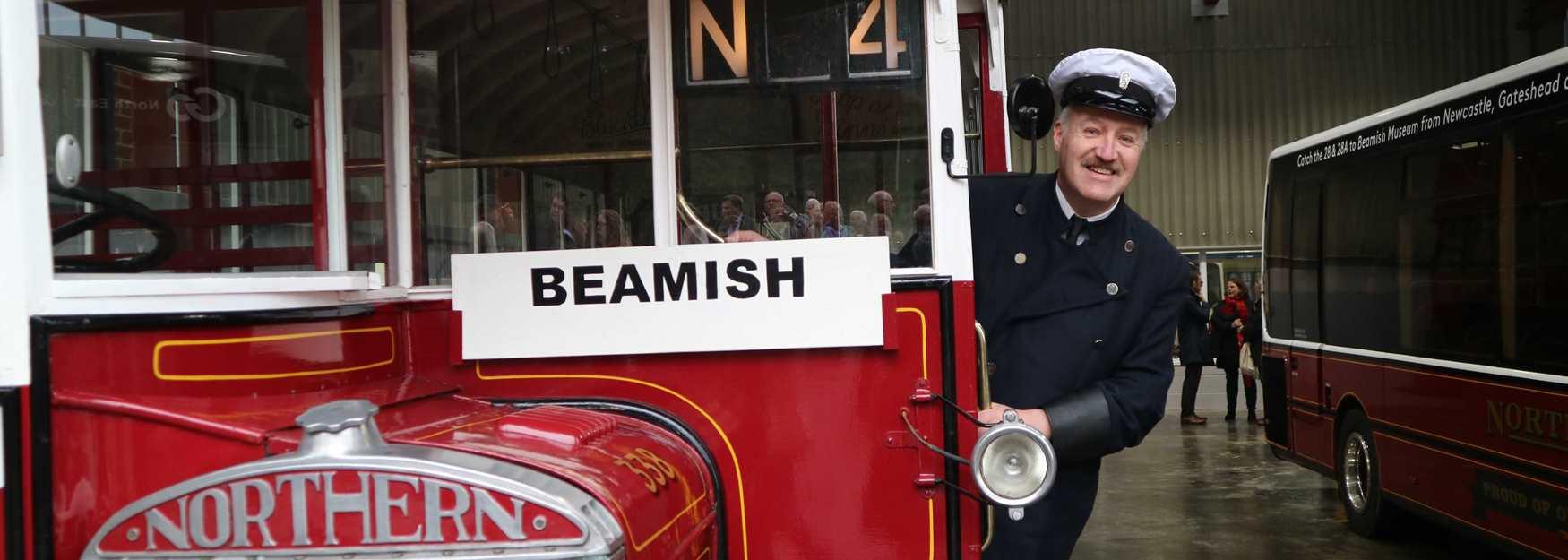 Bus Depo at Beamish