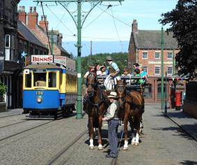 Enjoy a carriage ride around Beamish, The Living Museum of the North