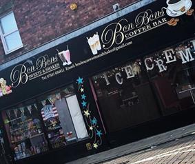 BonBon sweet and milk shake shop Chester-le-street