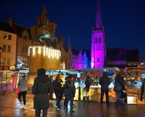 Winter breaks in Durham