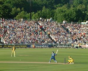 cricket match at Emirates riverside ground, Durham