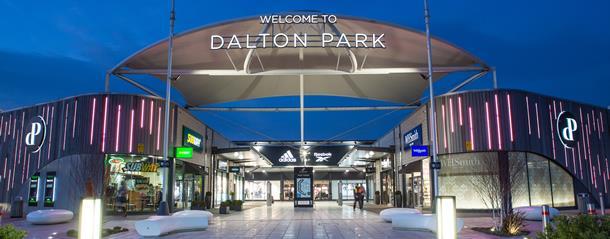 Shopping at Dalton Park