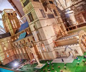Durham Cathedral Lego