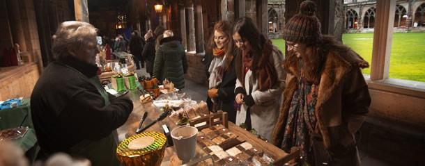 Durham Cathedral Christmas Market