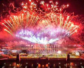 Kynren Fireworks Bishop Auckland