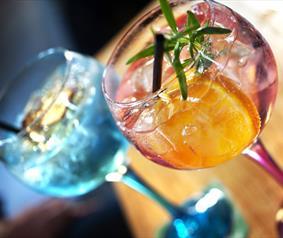 Gin lovers in Durham