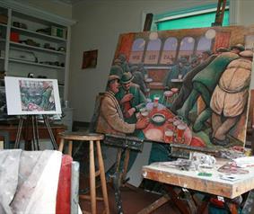Norman Cornish Studio