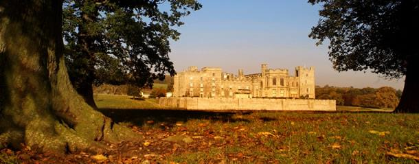 Raby Castle in Autumn