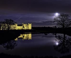 Dark skies in Durham at Raby Castle