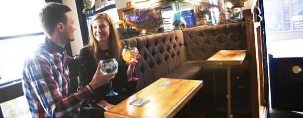 Romantic drinks in Durham