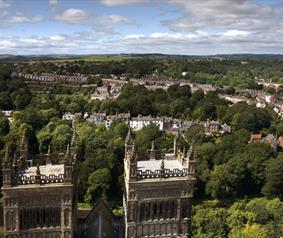 Top of Durham Cathedral jigsaw