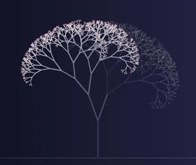 graphic of the lumiere tree of light digital artwork