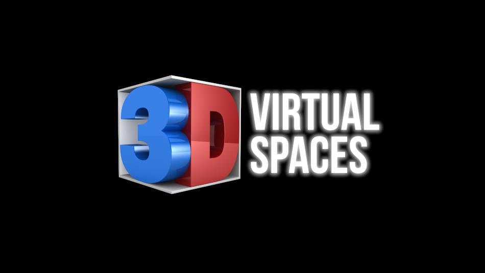 3D Virtual Spaces Logo