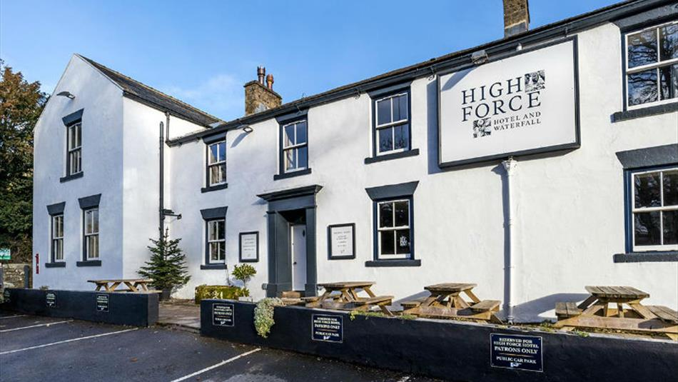 Exterior of High Force Hotel