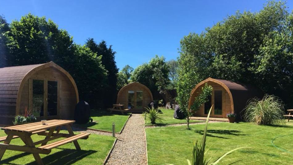 The Gables Pod Camping
