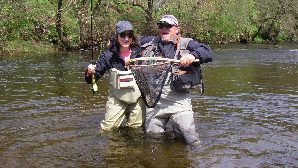 Fly Fishing Tuition River Eden