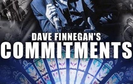 Dave Finnegan's Commitments: Live at the Cathedral 2022 Poster