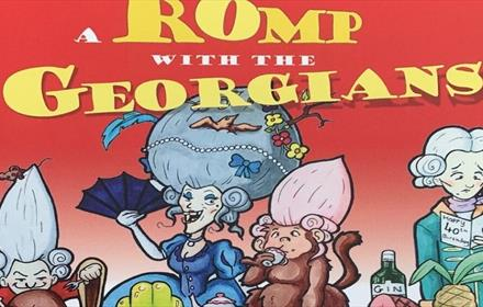 Cartoon of Georgians from book cover