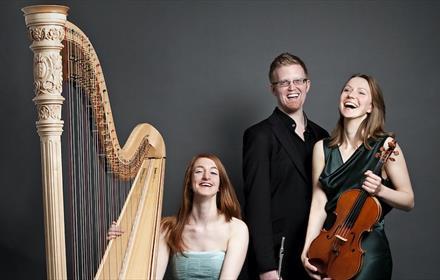 Trio Anima (flute,viola and harp)