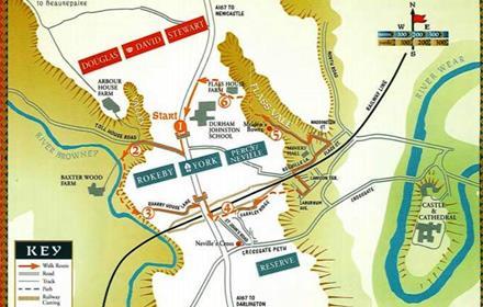 Battle of nevilles cross walk