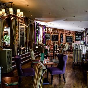 Bar seating area at Bowburn Hall Hotel Restaurant