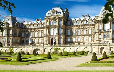 The Bowes Museum exterior of building
