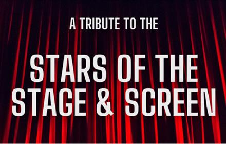 Stars of the Stage and Screen Poster