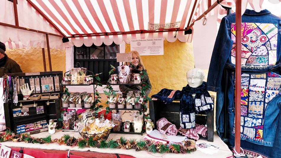 Stall at Raby Christmas Market