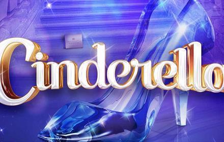 Cinderella, glass slipper, staircase