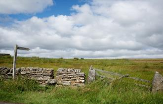 The Durham Dales on a sunny day