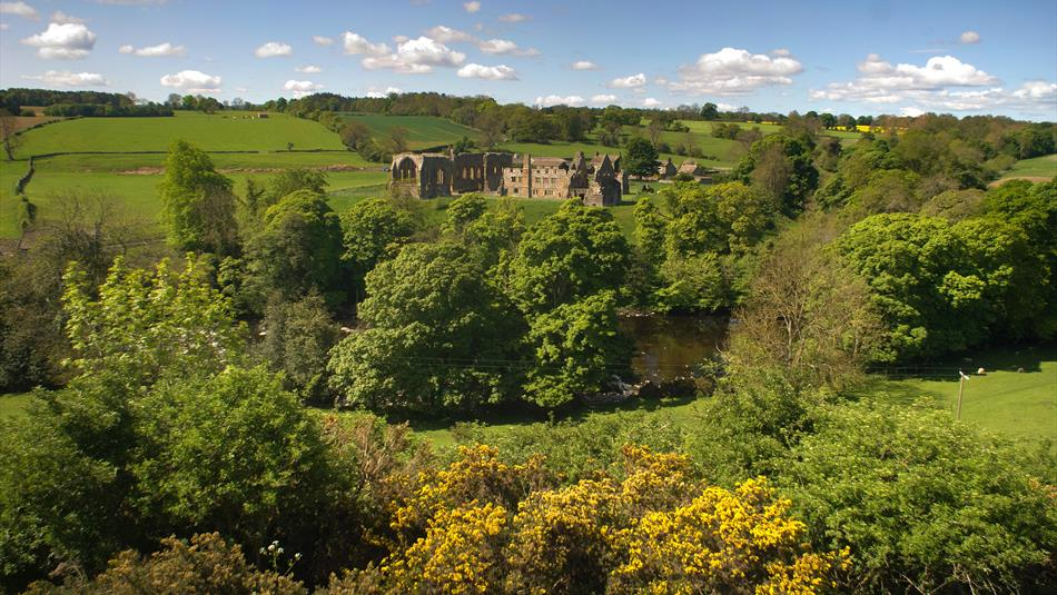 view of Eggleston Abbey