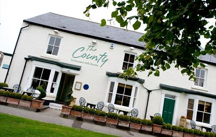 The County Restaurant with Rooms County Durham