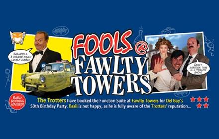 Fools @ Fawlty Towers tribute act poster