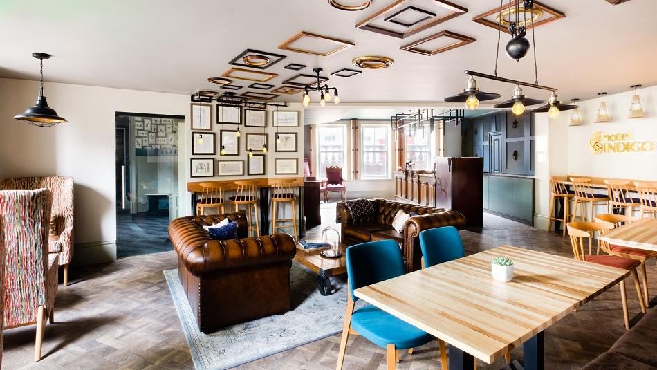 Hotel Indigo Tinderbox Coffee House