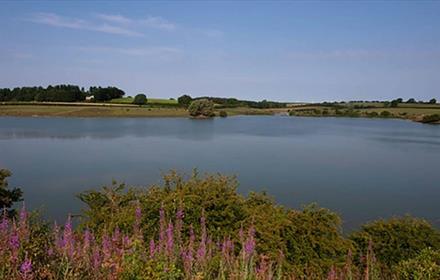 Hurworth Burn Reservoir.