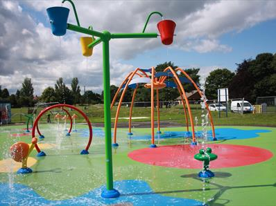Chester-le-Street Riverside Park Splash Pad
