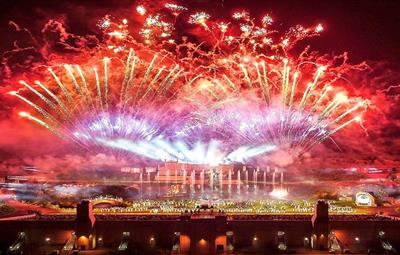 Kynren Fireworks Display