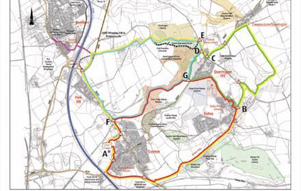 Limestone LinX Route Map