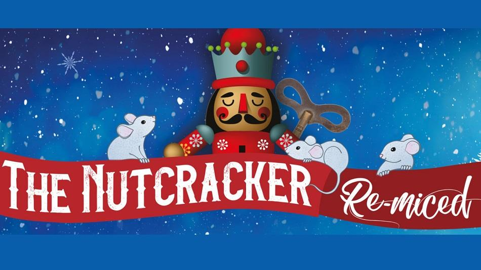 The Nutcracker with three white mice