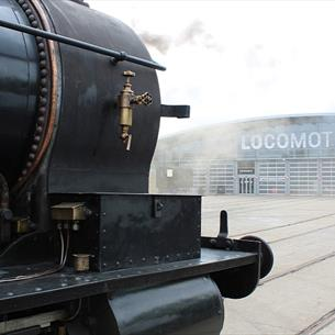 Steam Engine at Locomotion